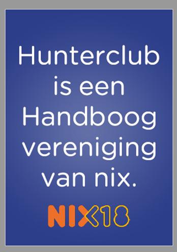 NIX18 poster van Hunterclub